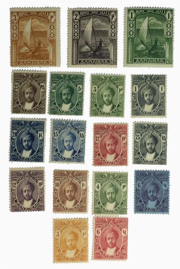 1921-29 Zanzibar