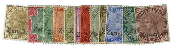 1895-96 Zanzibar