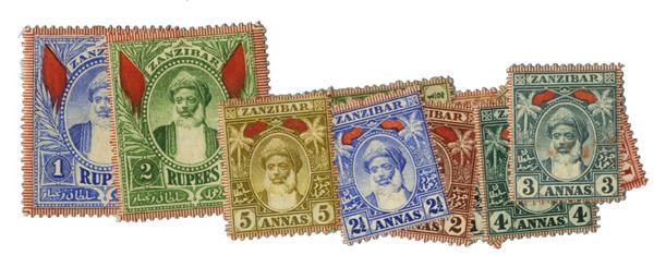 1899-1901 Zanzibar