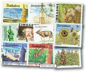 Zimbabwe, set of 50