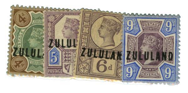 1888-92 Zululand
