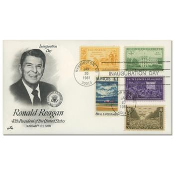 1981 Inauguration Cover - President Ronald Reagan