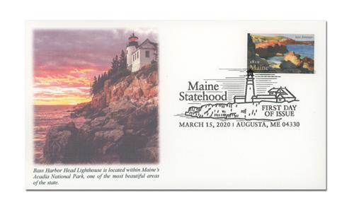 2020 First-Class Forever Stamp - Statehood: Maine Bicentennial