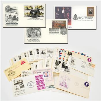 Giant FDC Collection - 70 Years of Covers from 1950 - 2019, 700 Covers