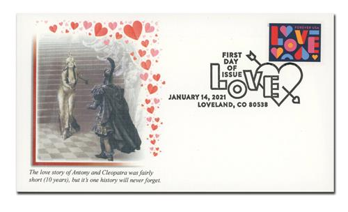 2021 First-Class Forever Stamp - Love