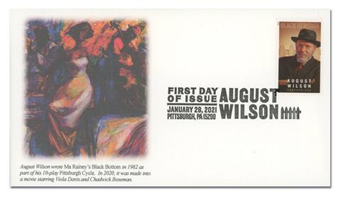 2021 First-Class Forever Stamp - Black Heritage: August Wilson