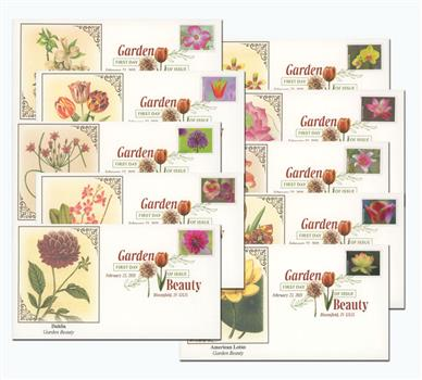 2021 First-Class Forever Stamps - Garden Beauty