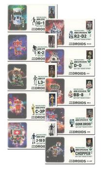2021 First-Class Forever Stamps - Star Wars Droids