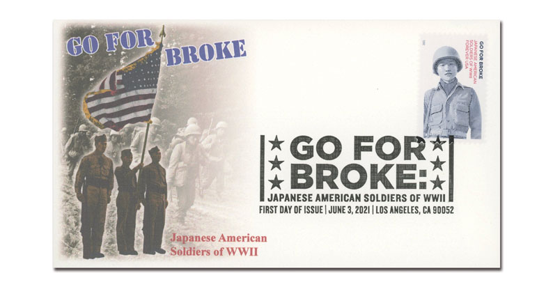 2021 First-Class Forever Stamp - Go For Broke: Japanese Soldiers of World War II