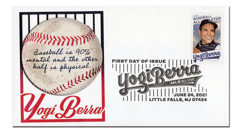 2021 First-Class Forever Stamp - Yogi Berra