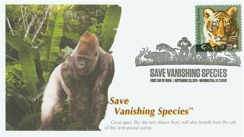 2011 44c & 11c Save Vanishing Species