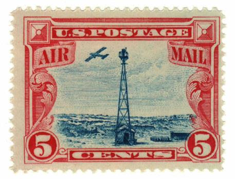 1928 5c Beacon On Rocky Mountains For Sale At Mystic Stamp Company