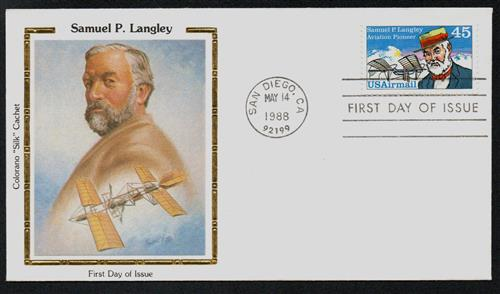 an analysis of samuel p langley who played a very big part in the history of aviation Nasa langley research center 1917-2017 right: the lunar landing research facility (llrf) was a 400-foot-long, 240-foothigh a-frame gantry from which astronauts could practice flying a full-scale.