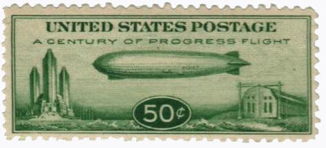 1933 50c Century of Progress Issue