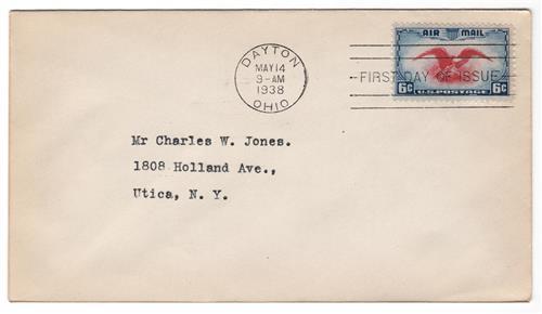1938 6c Airmail Eagle