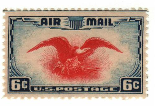 1938 6c Airmail Eagle For Sale At Mystic Stamp Company