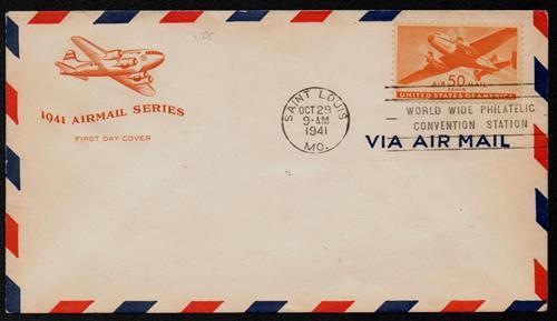1941 50c Rotary Press