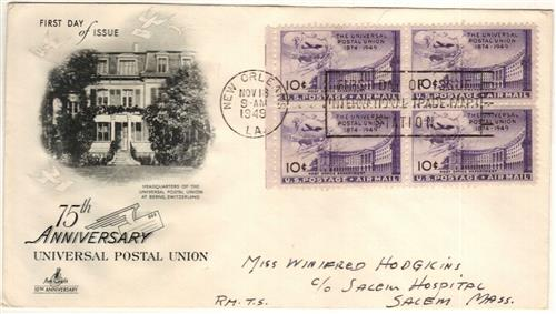 1949 10c Post Office