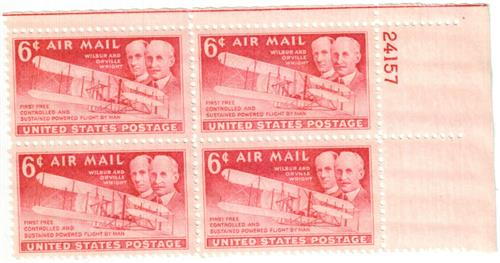1949 6c Wright Brothers