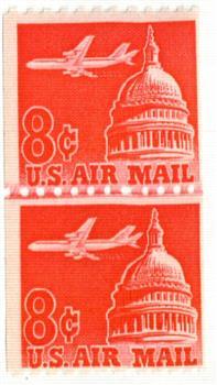 1962 8c Plane & Capitol