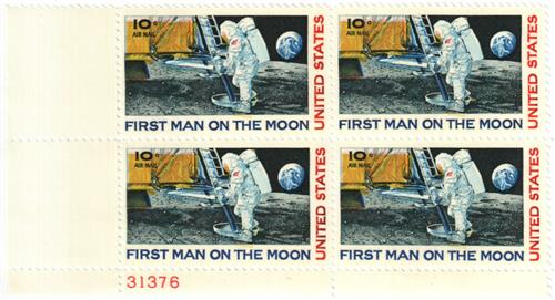 1969 10c Moon Landing For Sale At Mystic Stamp Company
