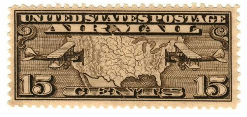 1926 15c Airmail Perf 11