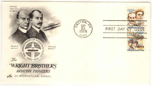 1978 31c Wright Bro Se-tens
