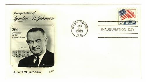 1965 Inauguration Cover - President Lyndon B. Johnson