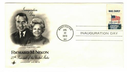 1973 Inauguration Cover - President Richard M. Nixon