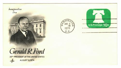 1974 Inauguration Cover - President Gerald R. Ford