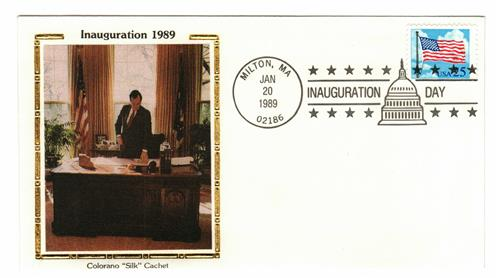 1989  Inauguration Cover - President George H.W. Bush