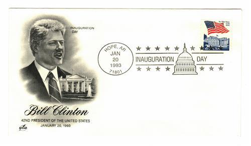 1993 Inauguration Cover - President William J. Clinton