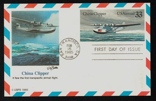 1985 33c China Clipper