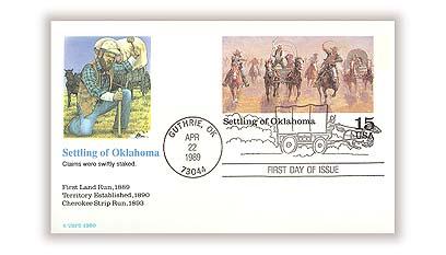 15c Oklahoma Land Run