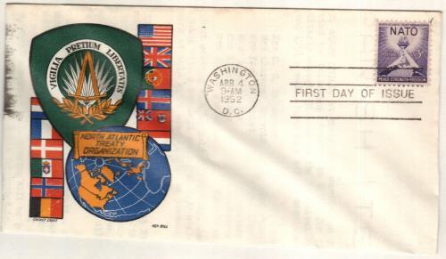 1952 3¢ NATO