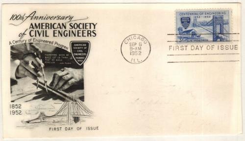 1952 3¢ Engineering Centennial