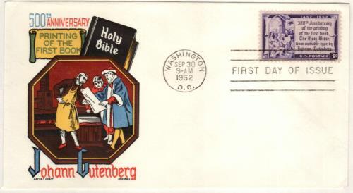 1952 3¢ Gutenberg Bible
