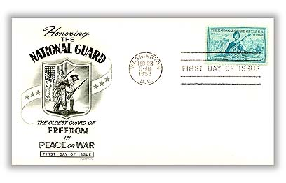 1953 3¢ National Guard