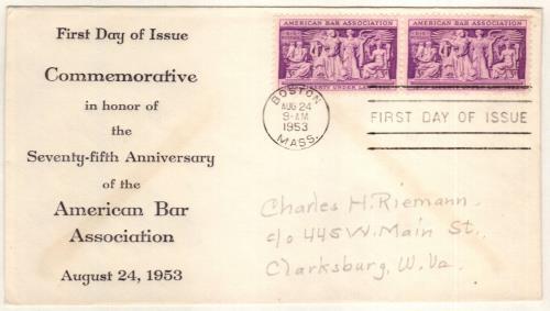 1953 3¢ American Bar Association