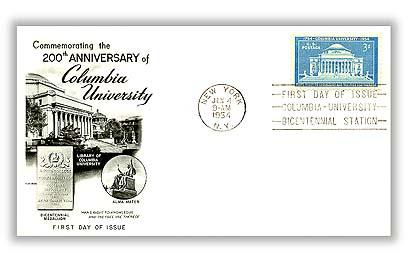 1954 3¢ Columbia University