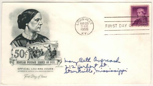 1955 Liberty Series - 50¢ Susan B. Anthony