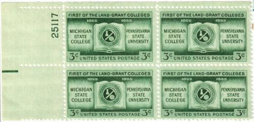 1955 3¢ Land Grant Colleges