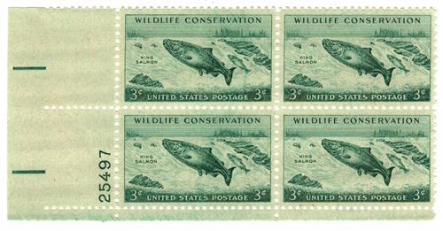 1956 3¢ King Salmon