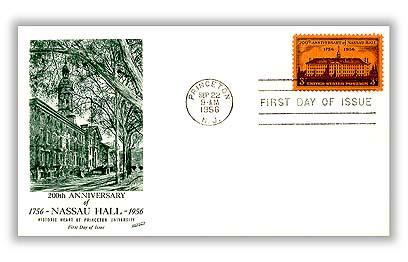 1956 3¢ Nassau Hall