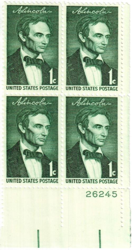 1959 1¢ Abraham Lincoln