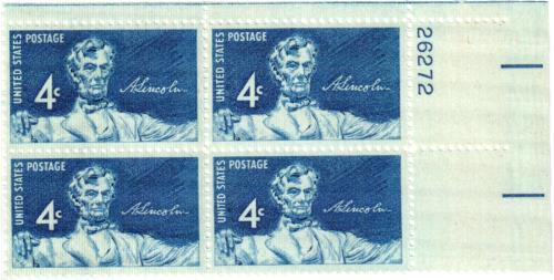 1959 4¢ Statue of Lincoln