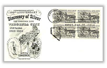 1959 4c Silver Centennial