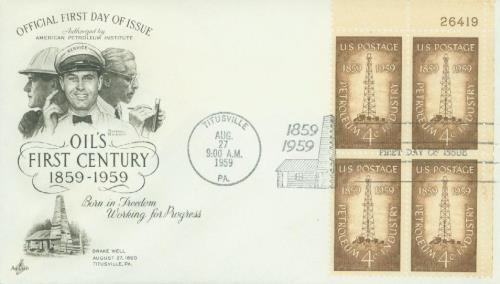 1959 4c Petroleum Industry