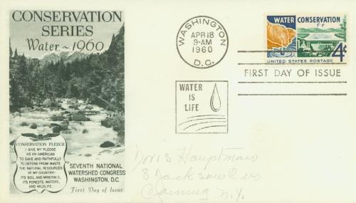 1960 4c Water Conservation