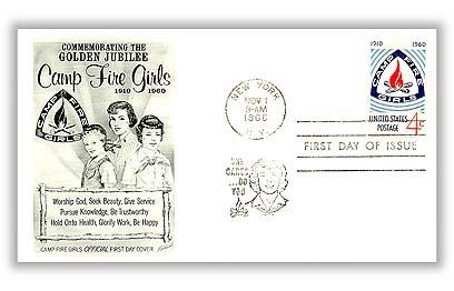 1960 4c Camp Fire Girls